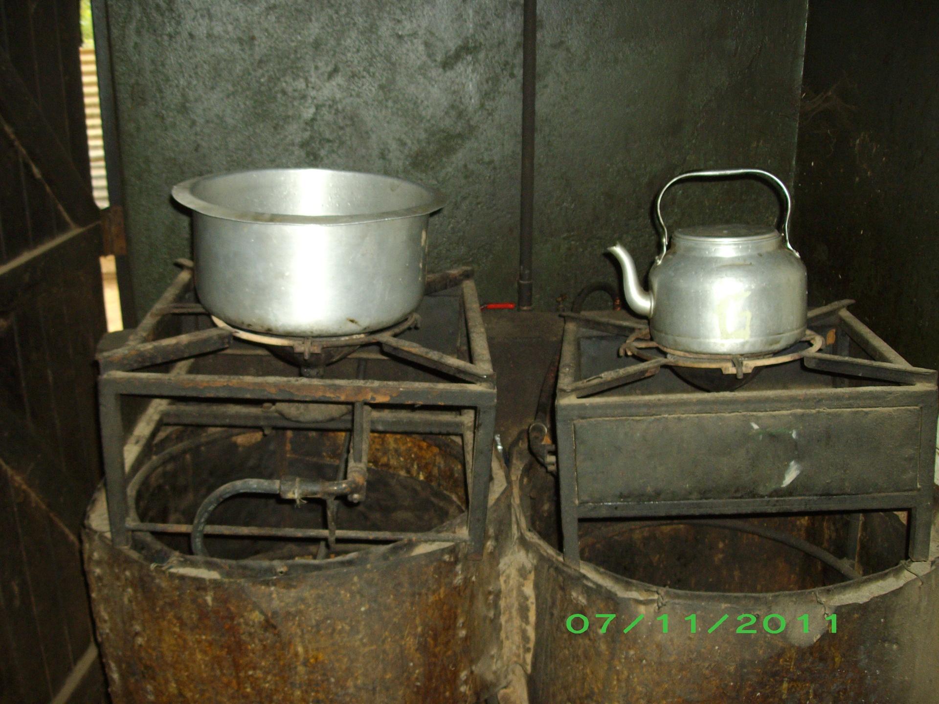 Biogas stoves